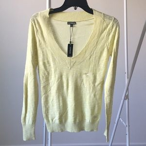 Express Lime Sweater